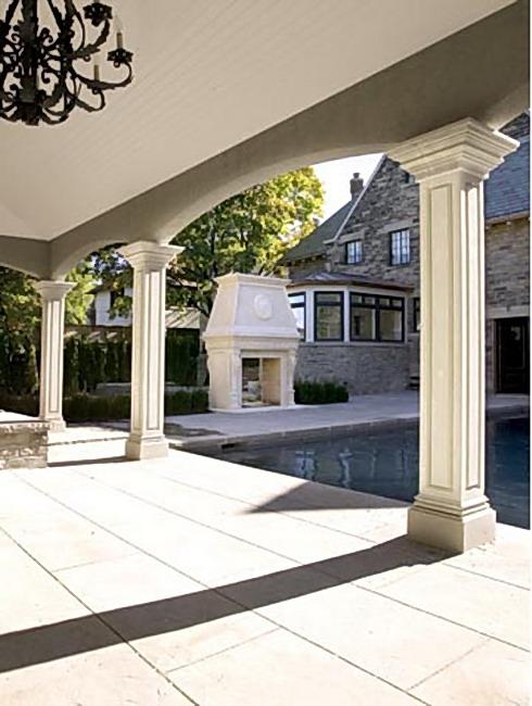 limestone column