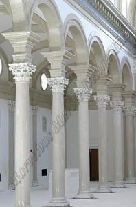 cast stone column
